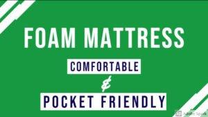 Best Foam mattress