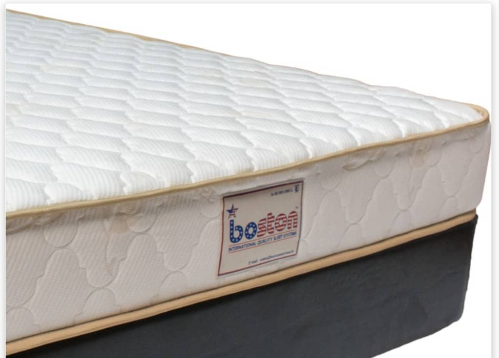 Boston organic latex mattress