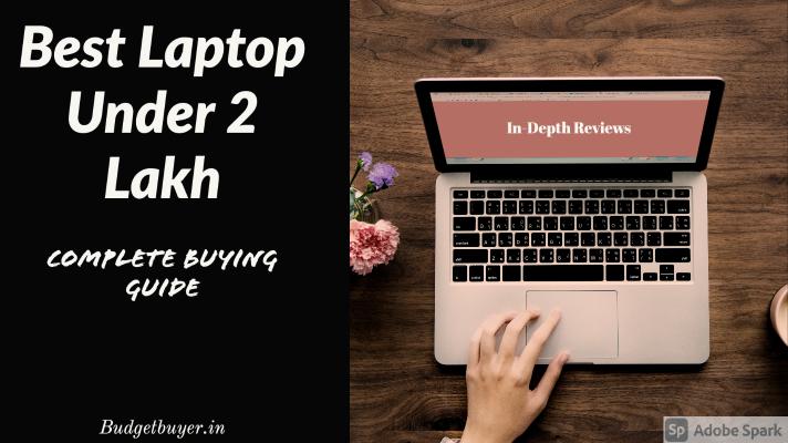 Best Laptop Under 2 Lakh